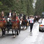 zaprzęgi konne wesele pogrzeb chrzciny
